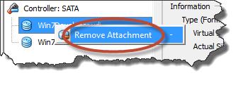 Remove Attachment